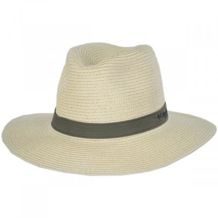 PFG Bonehead Toyo Straw Safari Fedora Hat alternate view 5