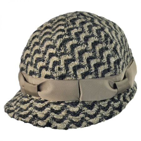 Kangol Lovat Tweed Cloche Hat