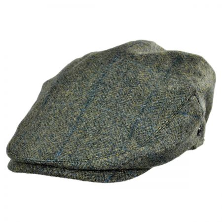 Jaxon Hats Lewes Wool Plaid Ivy Cap