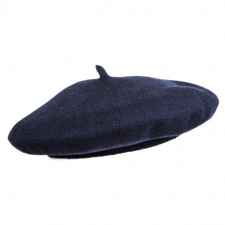 Jaxon Hats Simple Cotton Beret