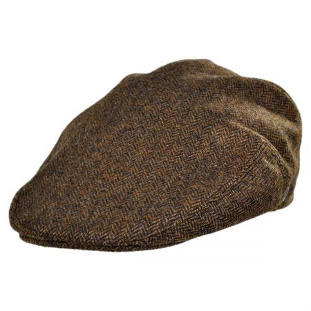 Jaxon Hats Kensington Wool Herringbone Ivy Cap