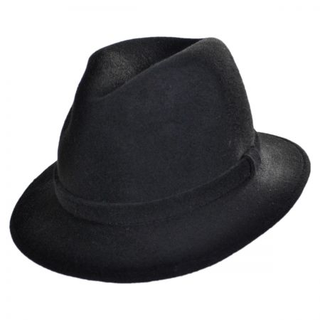 Jaxon Hats - Made in Italy Made in Italy - Wool Felt Safari Fedora Hat by Barbisio