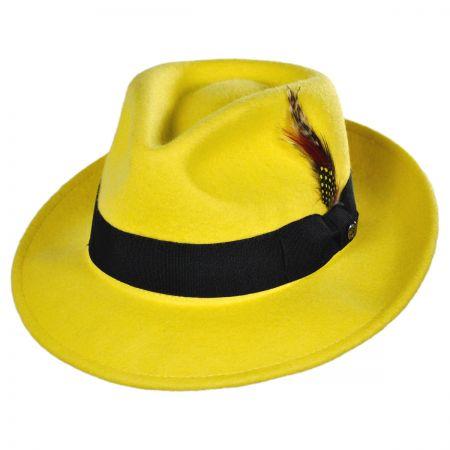 Jaxon Hats Pachuco C-Crown Crushable Fedora Hat