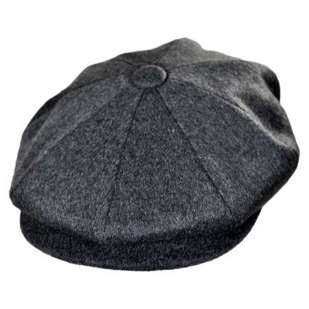 Jaxon Hats Milan Fine Wool Newsboy Cap