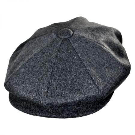 B2B Jaxon Milan Fine Wool Newsboy Cap