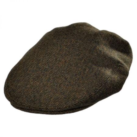 B2B Jaxon Genoa Wool Herringbone Ivy Cap
