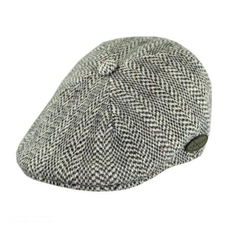 Herringbone Wool Blend 507 Ivy Cap alternate view 1