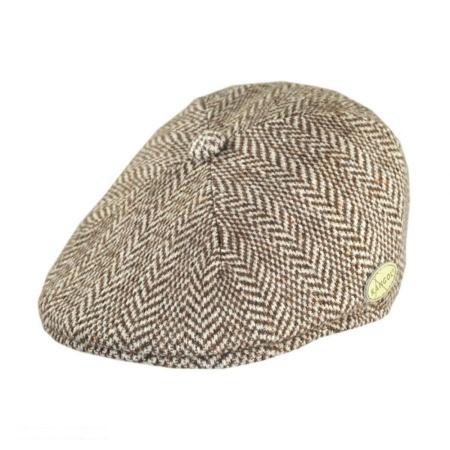 Herringbone Wool Blend 507 Ivy Cap
