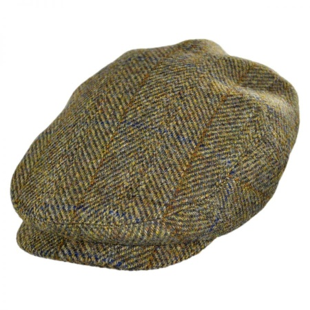 B2B Jaxon Highland Wool Plaid Ivy Cap