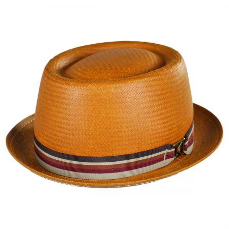 Kangol Kross Toyo Straw Pork Pie Hat