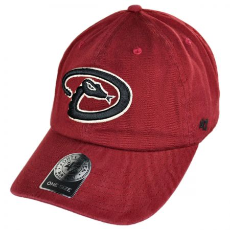 47 Brand Arizona Diamondbacks MLB Clean Up Strapback Baseball cap