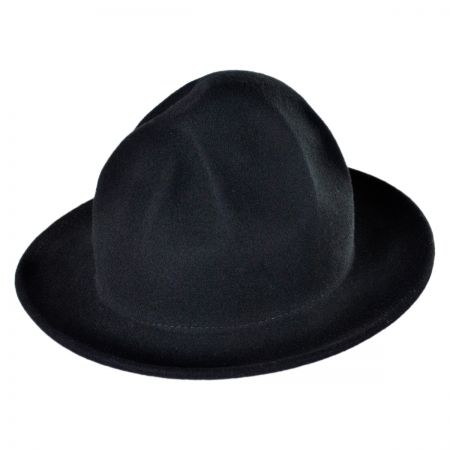 Jaxon Hats Happy Crushable Wool Felt Fedora Hat