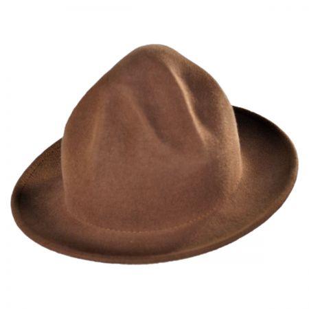 Jaxon Hats Happy Crushable Wool Felt Fedora Hat