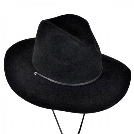Brixton Hats Mayfield Wool Felt Wide Brim Fedora Hat