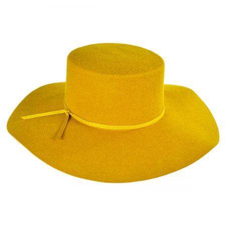Brixton Hats Ally Wool Felt Wide Brim Bolero Hat