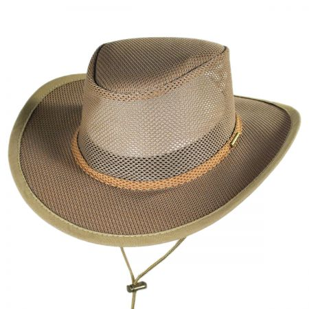 Stetson Mesh Covered Soaker Safari Hat