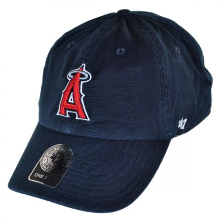 7ab38245f66 47 Brand Los Angeles Angels of Anaheim MLB Home Clean Up Strapback Baseball  Cap Dad Hat