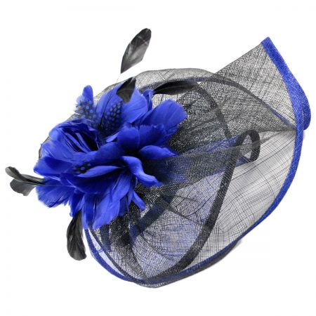 Scala Feather Derby Fascinator Headband