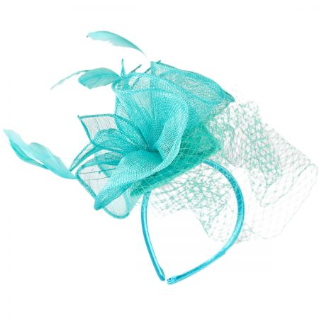 Jeanne Simmons Ruffle Fascinator Hat