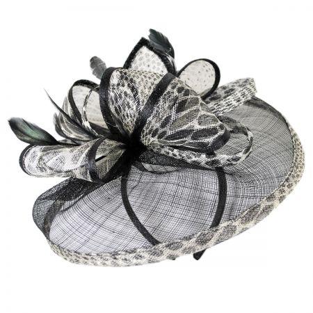 Jeanne Simmons Jaguar Fascinator Hat