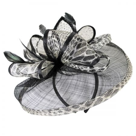 Jeanne Simmons Jaguar Fascinator Hat