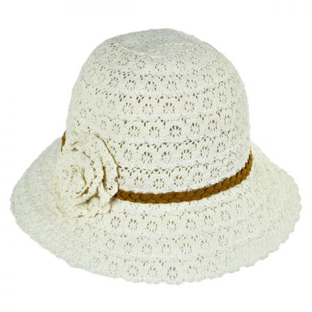 Jeanne Simmons Lace Cloche Hat