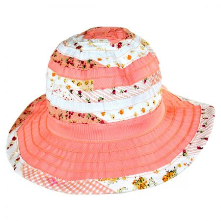 Jeanne Simmons Children's Floral Ribbon Sunhat