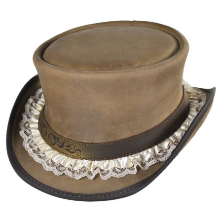 Head 'N Home Lace Garter Marlow Top Hat