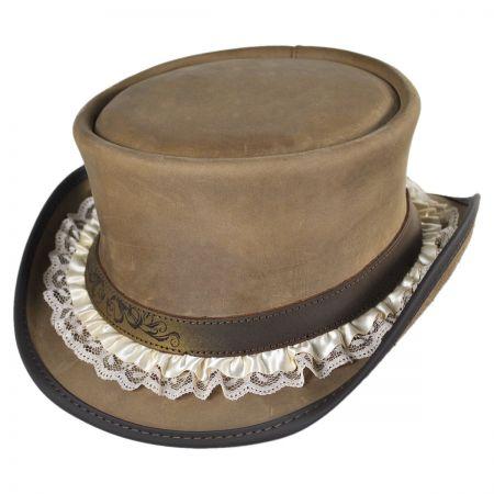 Head 'N Home Lace Garter Marlow Top Hat