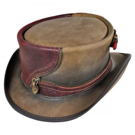 Head 'N Home Zipper Eureka Top Hat
