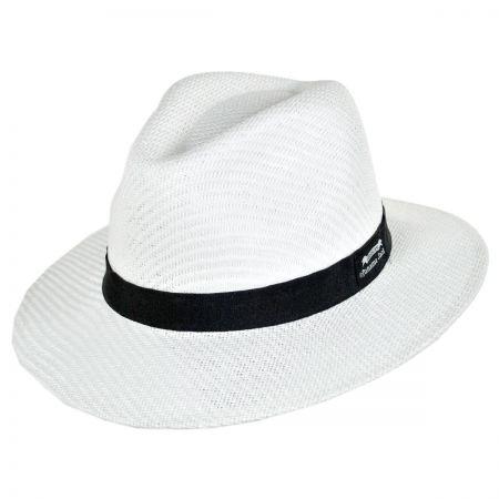 Panama Jack Ribbon Toyo Safari Fedora Hat