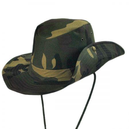 B2B Camo Aussie Bush Hat