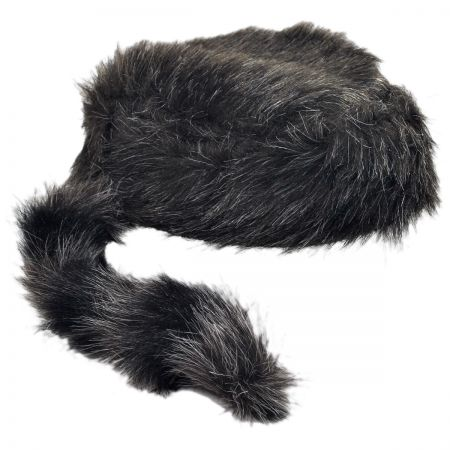B2B Coonskin Hats (Artificial Tail) - Adult