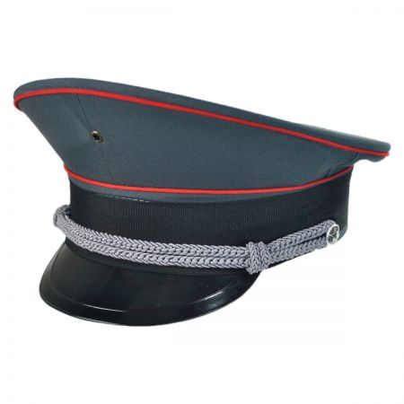 B2B Deluxe Military Hat with Black Bill