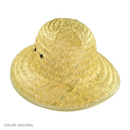 B2B Lindu Straw Pith Helmet