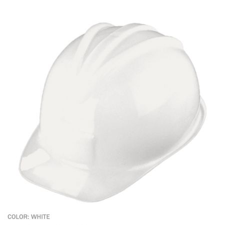 B2B Plastic Construction Hat - White