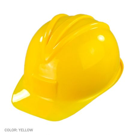 B2B Plastic Construction Hat - Yellow