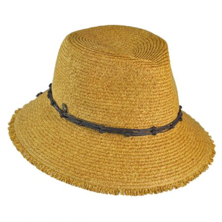 Tommy Bahama Fringe Fedora Hat
