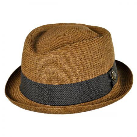 Goorin Bros Tropicana Diamond Crown Fedora Hat