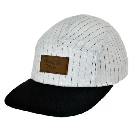 Brixton Hats Cavern Five Panel Strapback Baseball Cap