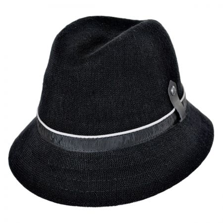 Kangol Hemp Down Brim Fedora Hat