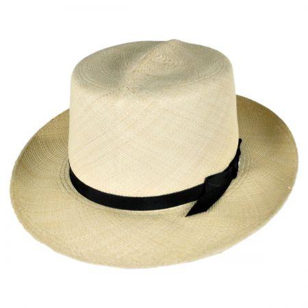Stetson Panaroll Grade 8 Panama Straw Fedora Hat