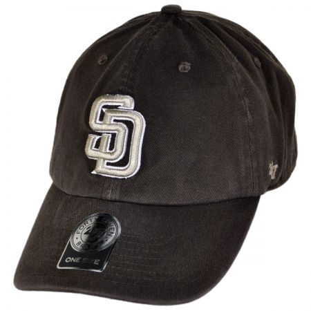 47 Brand San Diego Padres MLB Home Clean Up Strapback Baseball Cap