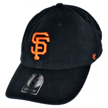 47 Brand San Francisco Giants MLB Clean Up Strapback Baseball Cap