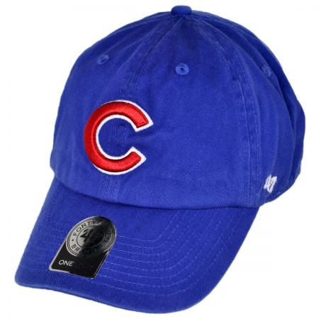 47 Brand Chicago Cubs MLB Clean Up Strapback Baseball Cap Dad Hat