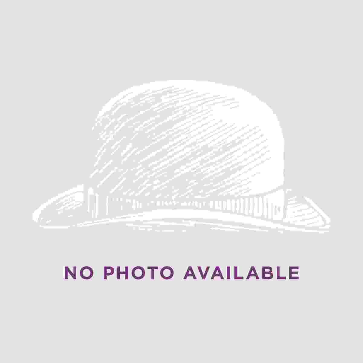 Village Hat Shop 3-Pleat Pug Cotton Twill Hat Band - Black