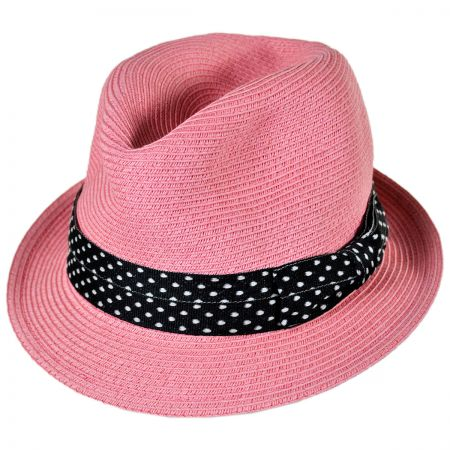Sunday Afternoons Kid's Gecko Straw Fedora Hat