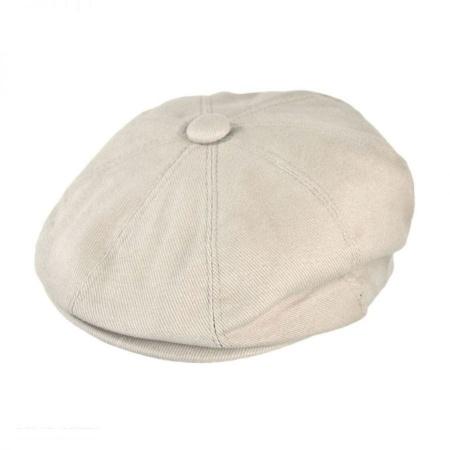 Cotton Newsboy Cap - Youth