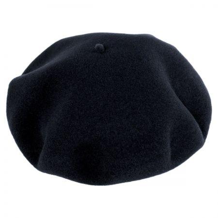 Jaxon Hats Wool Basque Beret by Héritage par Laulhère