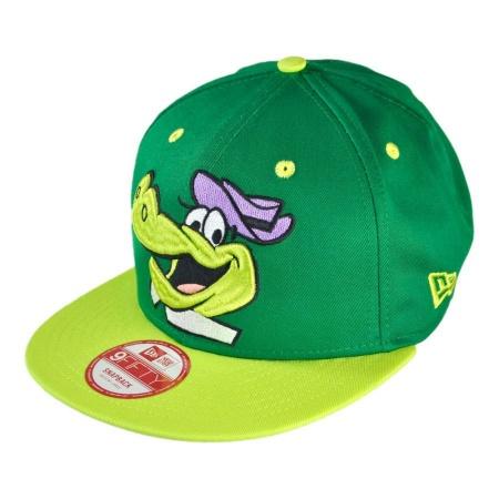 New Era Hanna Barbera Wally Gator Cabesa Punch 9FIFTY Snapback Baseball Cap